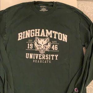 Champion Binghamton University long sleeve tee